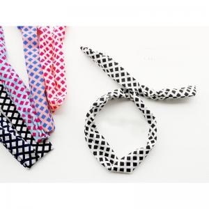 Printing kain sebagai bahan baku kain membuat hair scarf custom