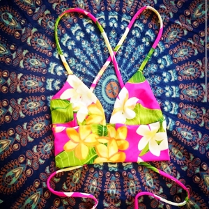 Printing kain sebagai bahan baku kain membuat swim wear custom