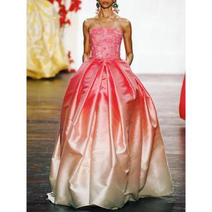 Printing kain sebagai bahan baku kain membuat bridal dress custom