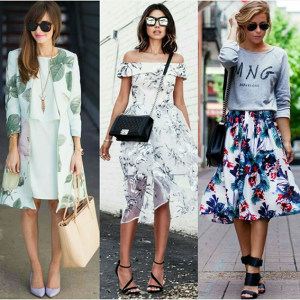Printing kain sebagai bahan baku kain membuat fashion garment
